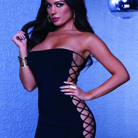 Black Short Dress Club Wear - Women Dresses