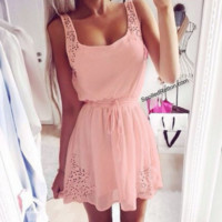 pink dress   Spoiled Rotton