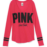 Athletic Long Sleeve Tee - PINK - Victoria's Secret
