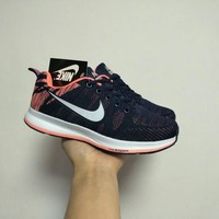 """Nike"" Women Sport Casual Fashion Multicolor Flyknit Sneakers Running Shoes"