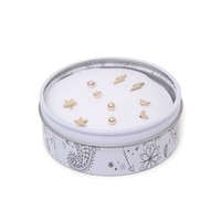 With Love From CA Celestial Earring Gift Tin - Womens Jewelry - Multi - One