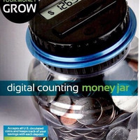 Digital Coin Counting Money Jar Automatic Piggy Bank Emerson New in Box