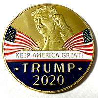 Trump 2020 Keep America Great Presidential Challenge Coin