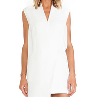 Cameo Run Alone Vest Dress in Ivory