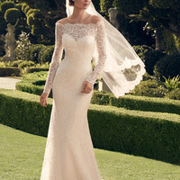 Casablanca Bridal 2169 Long Sleeve Wedding Dress