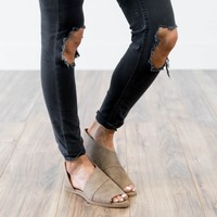 Blaire Bootie in Taupe
