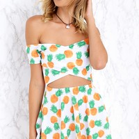 Sophie Dress Pineapple