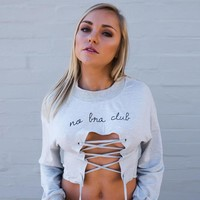 No Bra Club Sweater
