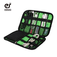 2017 Data Cable Practical Earphone Wire Storage Bag Power Line Organizer Electric Bag Flash Disk Case Digital Accessories Bags
