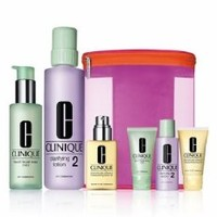 Clinique 'Great Skin Home & Away' Set for Dry/Combination Skin
