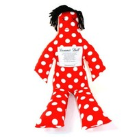 Dammit Doll Pillow, 26″ high, cotton exterior, variety of patterns available | Toad Hollow