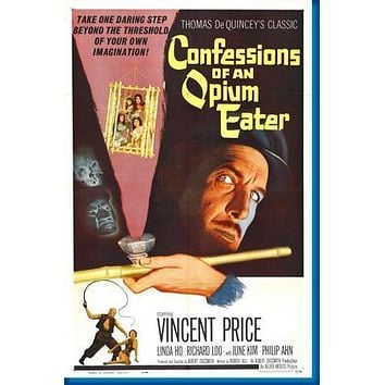 """Confessions Of An Opium Eater poster 24""""x36"""""""