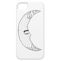 Man in The Moon iPhone 5/5S Covers
