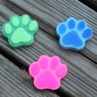 Animal soap - Dog soap - Paw print soap - Dog lover gift, Paw patrol favors - Paw patrol birthday favor, Paw patrol party, Animal lover gift