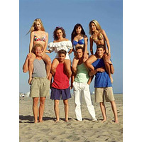 Beverly Hills 90210 Promo Poster Old Cast 27inx40in
