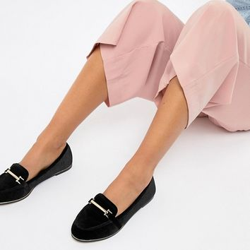 ASOS DESIGN Maderia flat shoes | ASOS