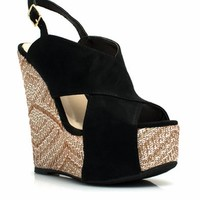 Crisscross My Heart Woven Wedges - GoJane.com