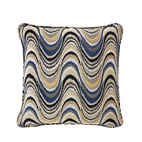 Blue Pattern Pillow - S | Eichholtz Jardin