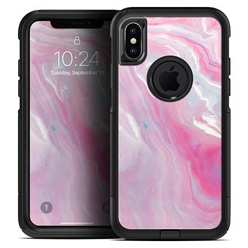 Marbleized Pink Paradise V8 - Skin Kit for the iPhone OtterBox Cases
