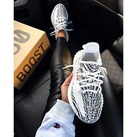Adidas Yeezy 550 Boost 350 V2 Grey White-6