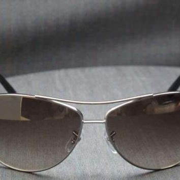 ITALY RAY BAN Gunmetal SUNGLASSES RB 3454E 004/13 Authentic 65 mm lens