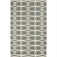Area Rug - 2' X 3' - Colors Include Winter White, Stormy Sea And Silvered Gray
