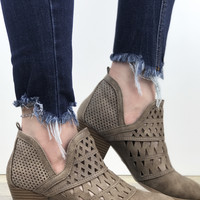 Amber Cut Out Bootie