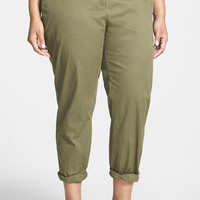 Plus Size Women's Eileen Fisher Tapered Leg Pants