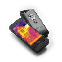 FLIR ONE - Infrared Accessory - fits Apple iPhone 5/5s - See the Heat - (Space Gray)