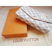 LV Louis Vuitton Popular Women Shopping Bag Leather Handbag Tote Shoulder Bag Satchel Three-Piece