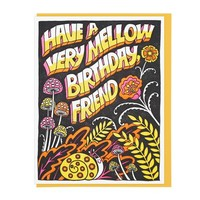 """Mellow Friend"" Birthday Card"