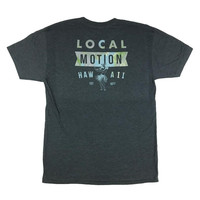 "Local Motion ""Hipsterish"" Men's Charcoal T-Shirt"
