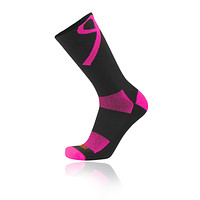 TCK Elite Aware Breast Cancer Ribbon Football, Basketball Crew Socks