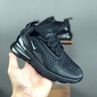 Nike Air Max 270 Black Child Sneaker Toddler Kid Shoes - Best Deal Online