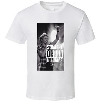 Niall Horan One Direction Straight Outta Mullingar Unisex T-Shirt (From S to 5XL)