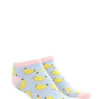 Banana Ankle Socks