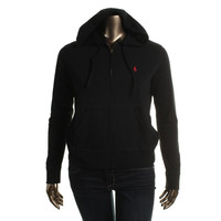 Polo Ralph Lauren Womens Embroidered French Terry Hoodie
