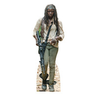 Walking Dead Michonne Cardboard Standup