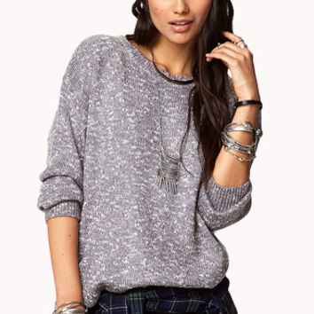 Off-Duty Marled Sweater