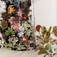 Slowtide Succulent Printed Beach Towel | Urban Outfitters