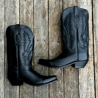 OLD WEST BOOTS BLACK