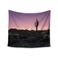 "Kess Original""Tucson Sunset"" -Tags Wall Tapestry"