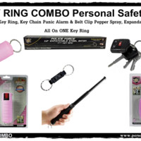 KEY RING COMBO Personal Safety Kit