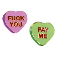 FUCK YOU PAY ME PIN SET