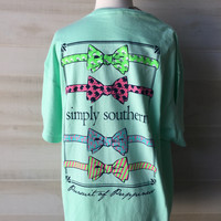 Simply southern bowtie shirt