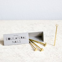 Catbird::shop by category::HOME & GIFTS::Equilateral Triangle Nails