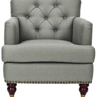 Colin Tufted Arm Chair design by Safavieh