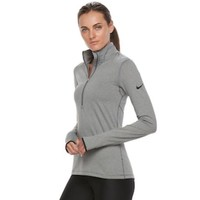DCCKX8J Women's Nike Warm Long Sleeve Half-Zip Baselayer Top | null