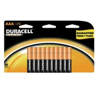 Duracell Coppertop AAA Alkaline Batteries, 20 Count