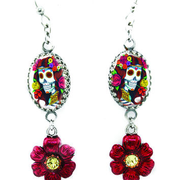 Day of the Dead Colorful Earrings